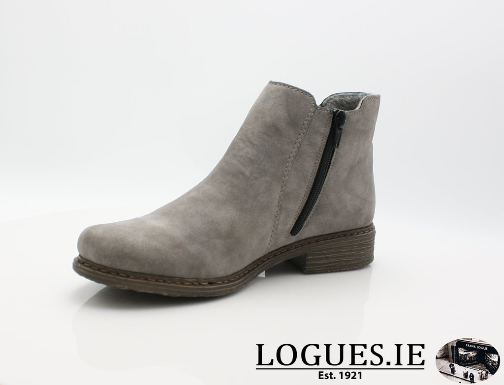 RKR Z2194LadiesLogues Shoesgrey/anthrazit 40 / 40