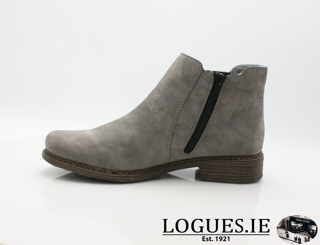 RKR Z2194LadiesLogues Shoesgrey/anthrazit 40 / 41