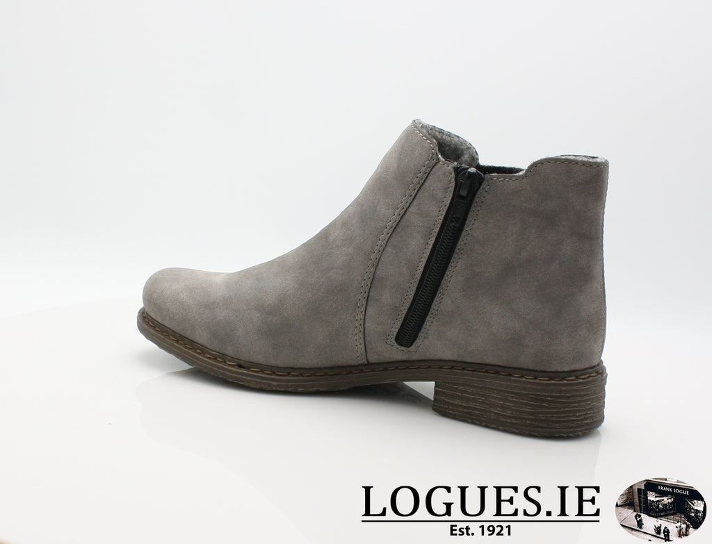 RKR Z2194-Ladies-RIEKIER SHOES-grey/anthrazit 40-36-Logues Shoes