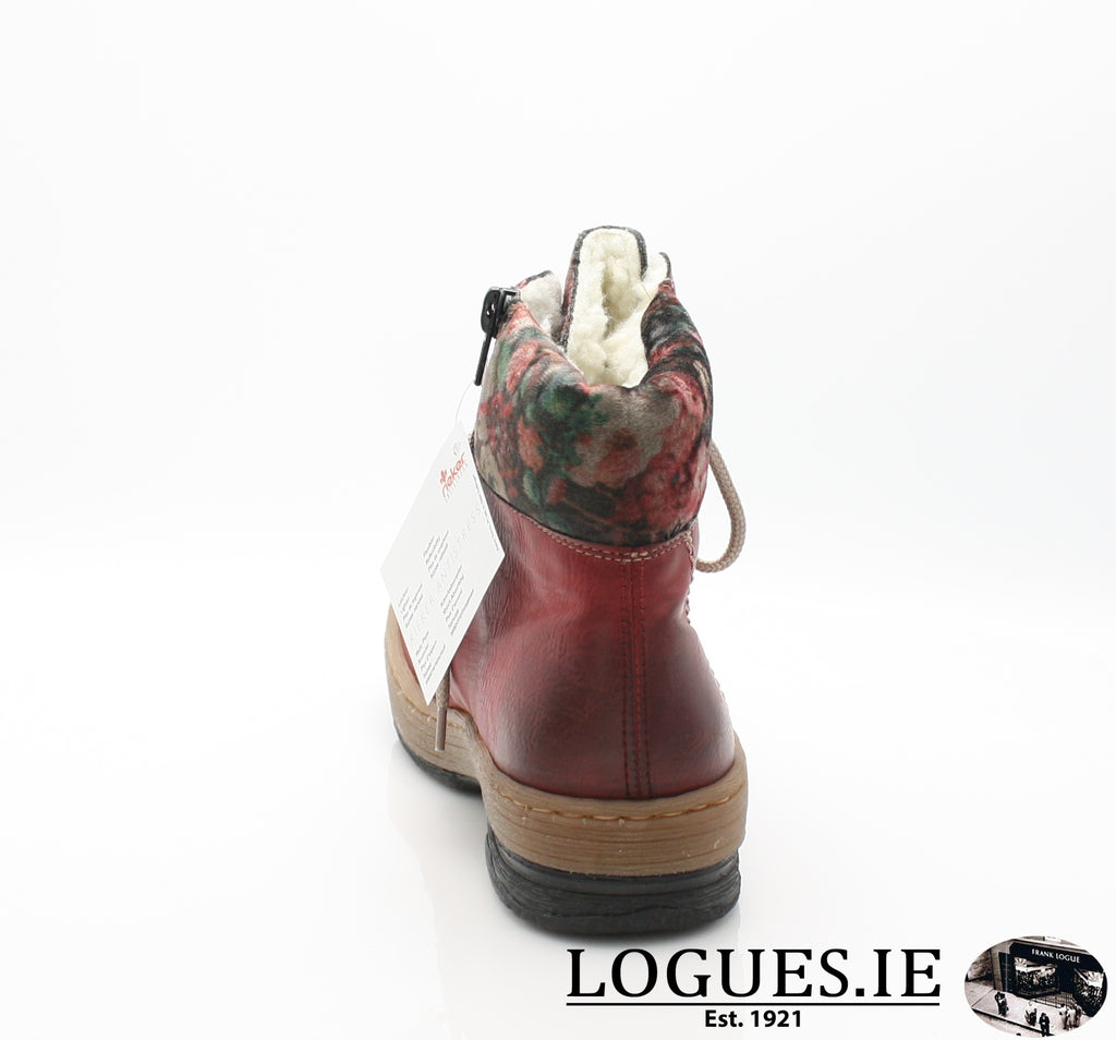 RKR Z6743LadiesLogues Shoeswine/nuss/multi-f 36 / 41