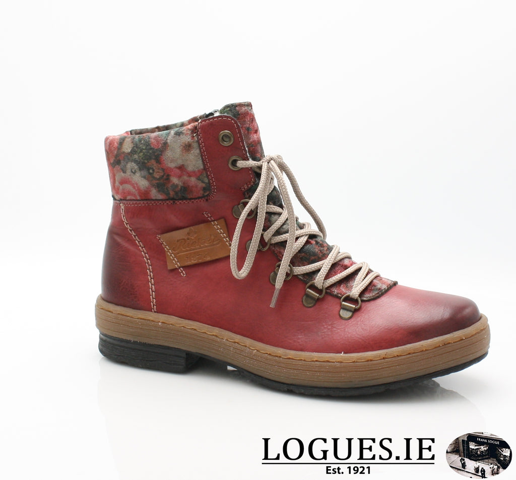 RKR Z6743LadiesLogues Shoeswine/nuss/multi-f 36 / 37