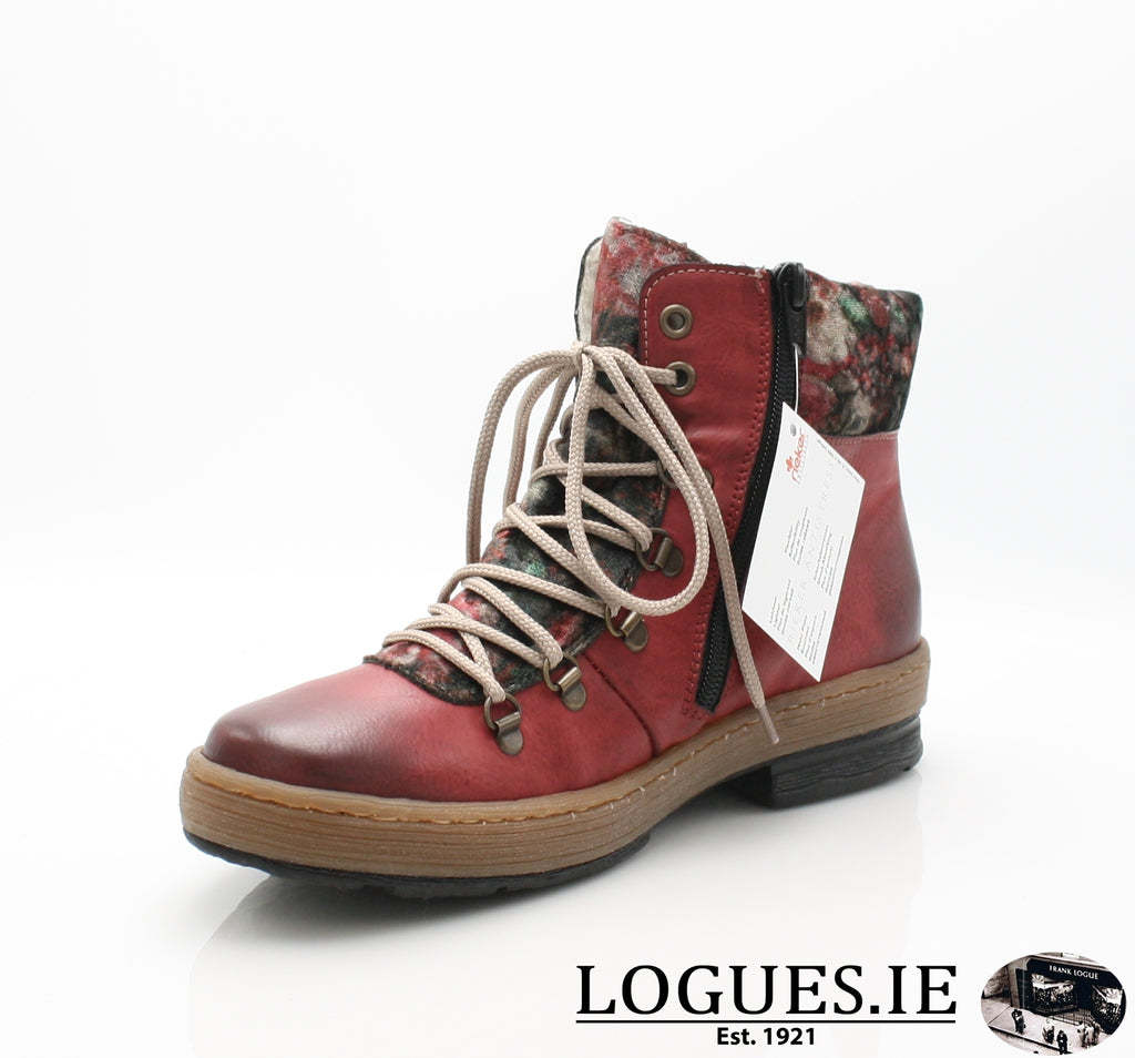 RKR Z6743LadiesLogues Shoeswine/nuss/multi-f 36 / 39