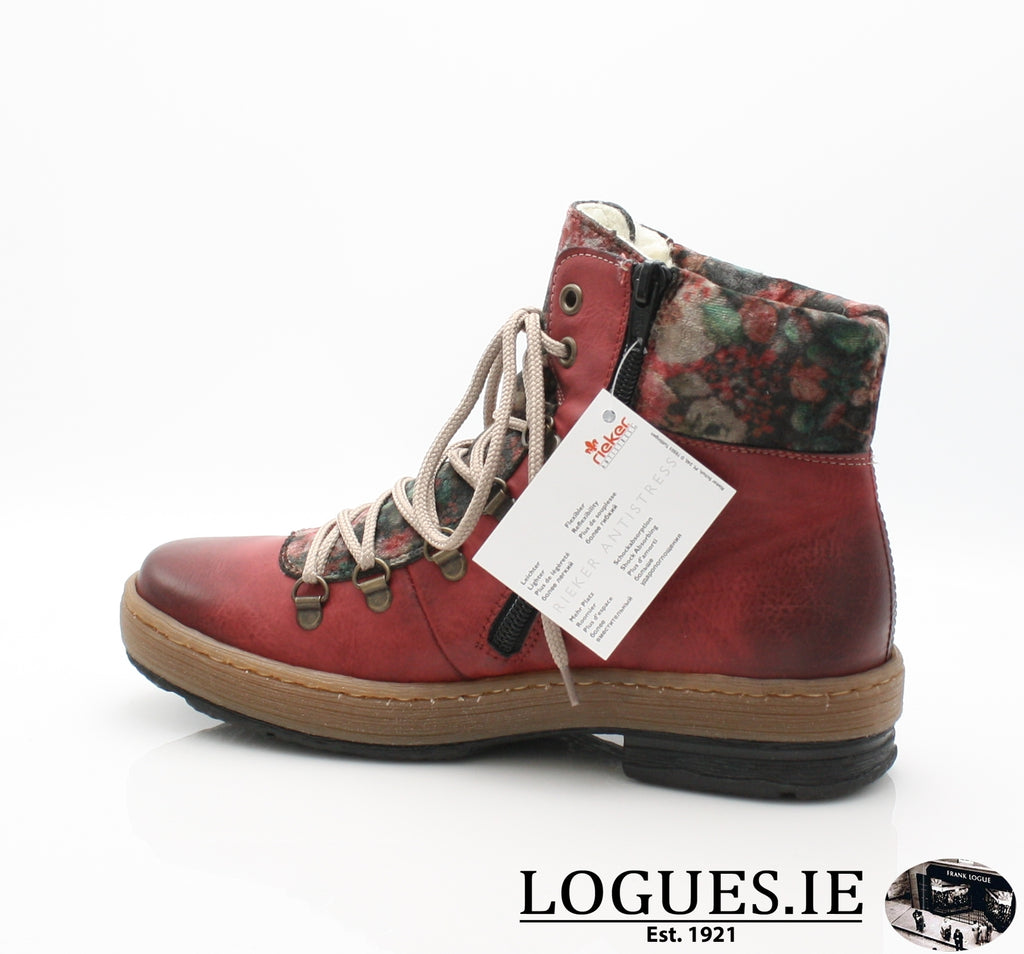 RKR Z6743LadiesLogues Shoeswine/nuss/multi-f 36 / 40