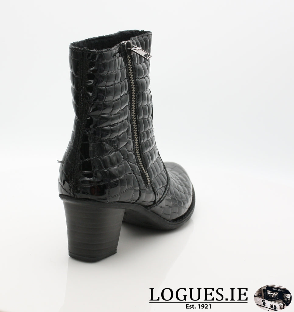 RKR Z7660LadiesLogues Shoesschwarz 01 / 42