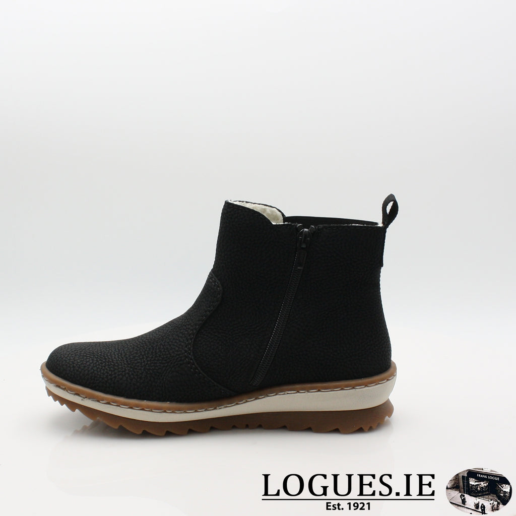Z8694 RIEKER 19BOOTSLogues Shoes
