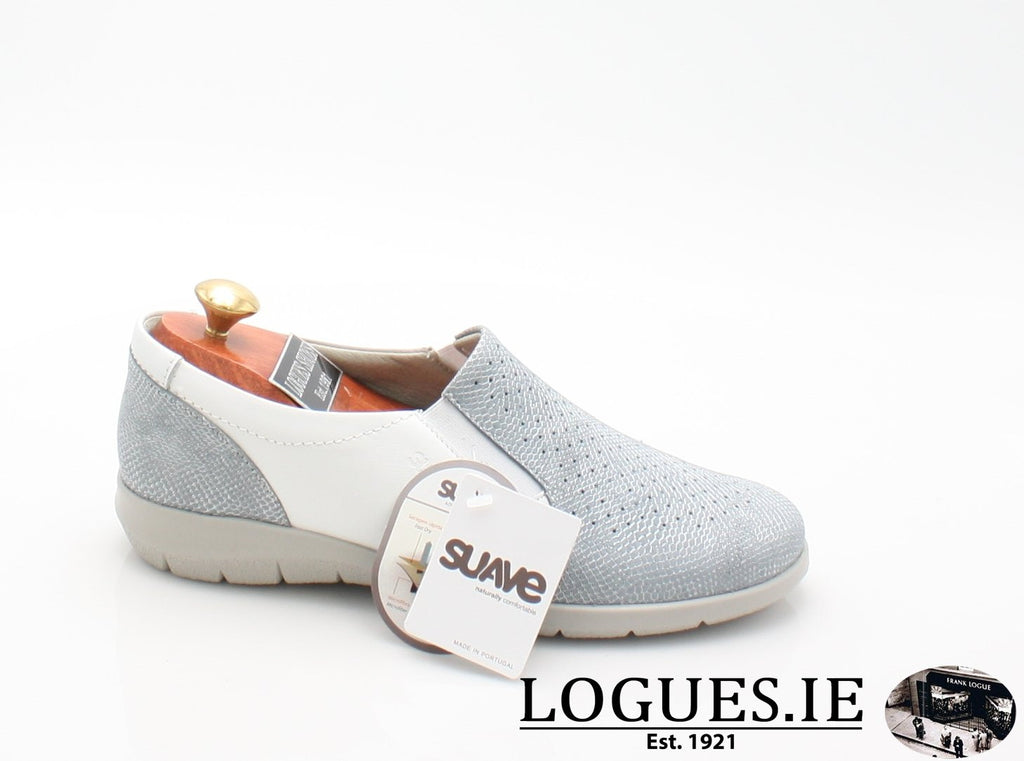 ASTRA SUAVE S/S18-Ladies-SUAVE SHOES CONOS LTD-AQUAMARINE/WHITE-36 = 3 UK-Logues Shoes