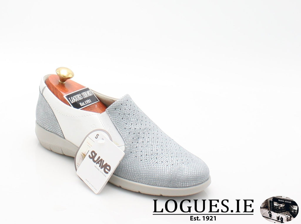 ASTRA SUAVE S/S18-Ladies-SUAVE SHOES CONOS LTD-AQUAMARINE/WHITE-37 = 4 UK-Logues Shoes