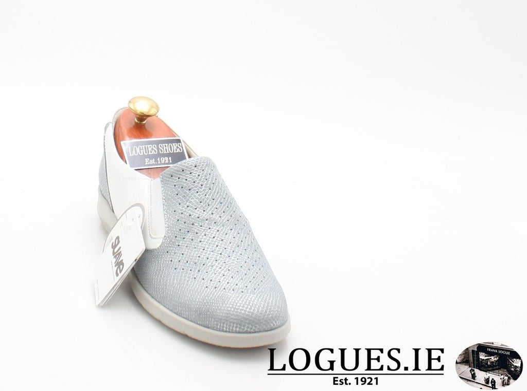 ASTRA SUAVE S/S18-Ladies-SUAVE SHOES CONOS LTD-AQUAMARINE/WHITE-38 = 5UK-Logues Shoes