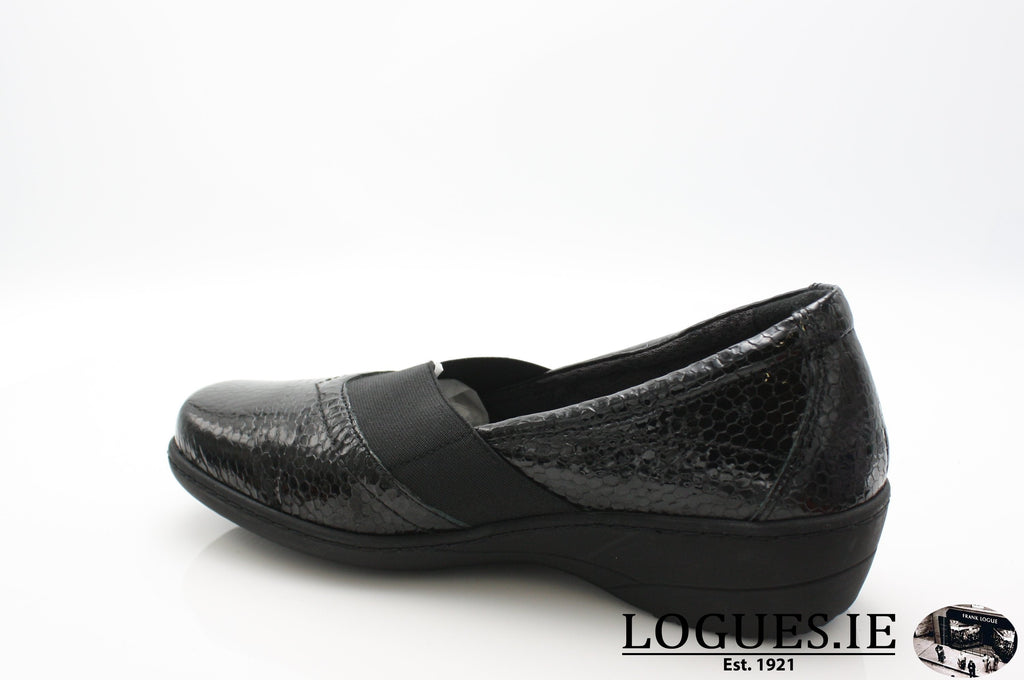 AVA SOFT MODE AW18LadiesLogues ShoesBLACK / 42 = 8 UK