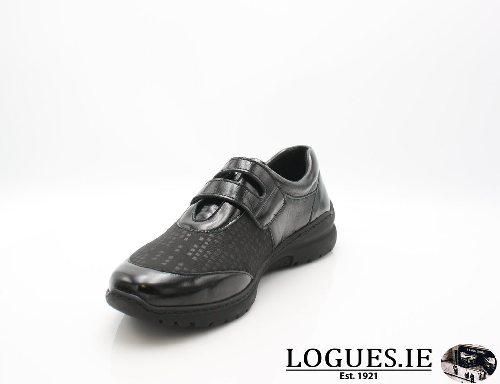 CARA SOFT MODE AW18-Ladies-SOFTMODE ORION DISTRIBUTION-BOSSA-BLACK-40 = 6.5/7 UK-Logues Shoes
