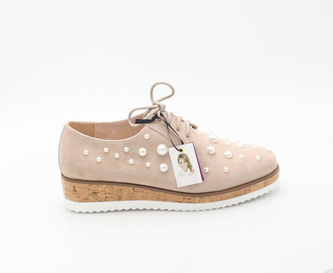 CLAUDINE AMY HUBERMAN SS18LadiesLogues ShoesROSE PEARL / 43 = 9 UK