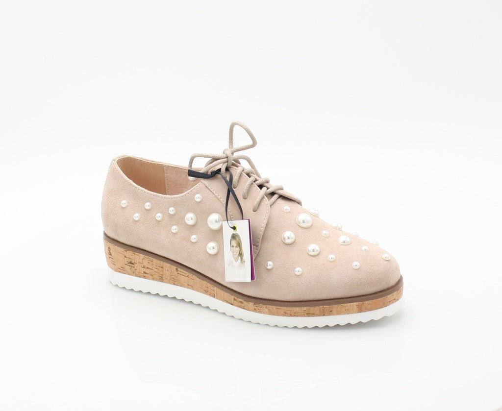 CLAUDINE AMY HUBERMAN SS18LadiesLogues ShoesROSE PEARL / 37 = 4 UK