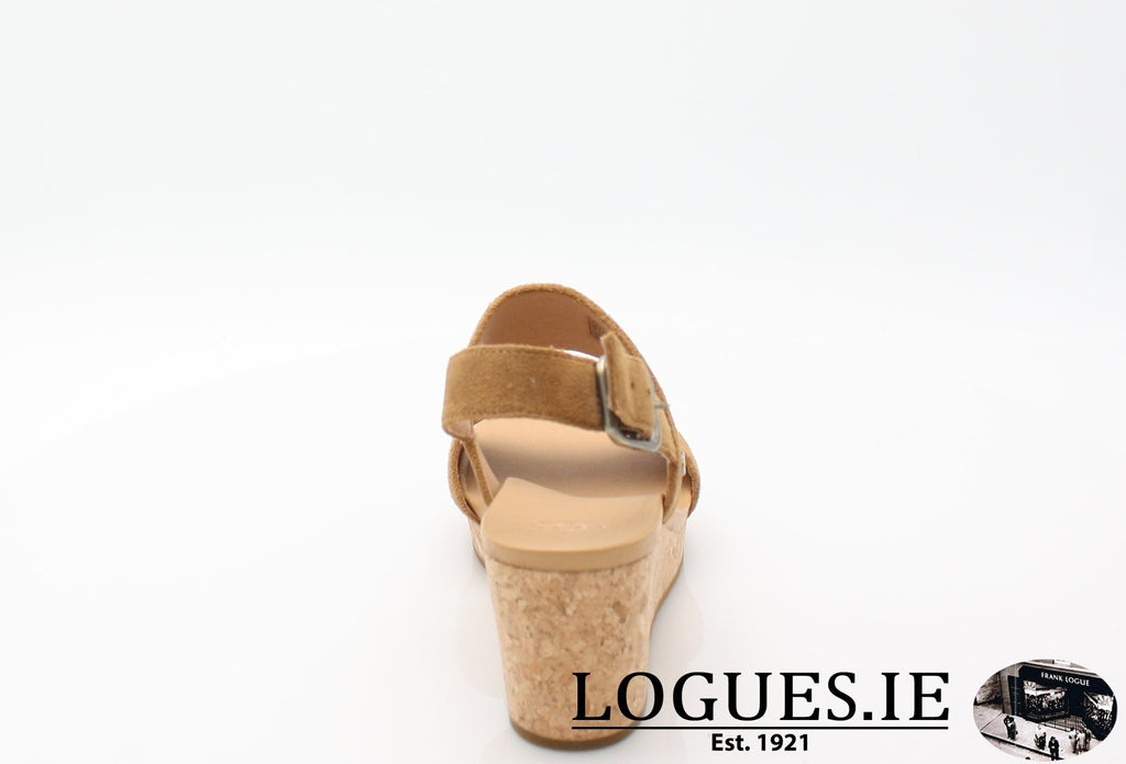 ELENA 11 UGGS SS18-SALE-UGGS FOOTWEAR-CHESTNUT 1019949-43 EU = 10.5 UK =12US-Logues Shoes