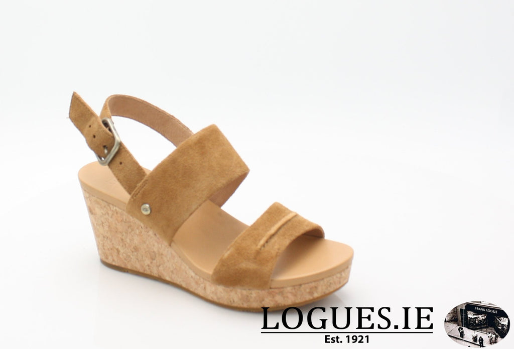 ELENA 11 UGGS SS18-SALE-UGGS FOOTWEAR-CHESTNUT 1019949-37 EU - 4.5 UK=6 US-Logues Shoes