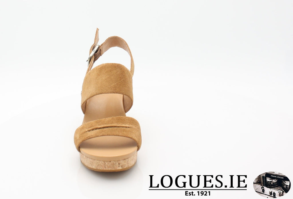 ELENA 11 UGGS SS18-SALE-UGGS FOOTWEAR-CHESTNUT 1019949-38 EU = 5.5 UK=7 US-Logues Shoes