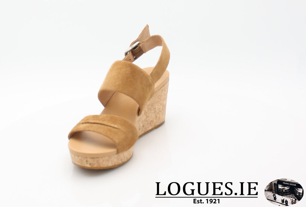 ELENA 11 UGGS SS18-SALE-UGGS FOOTWEAR-CHESTNUT 1019949-39 EU = 6.5 UK=8 US-Logues Shoes