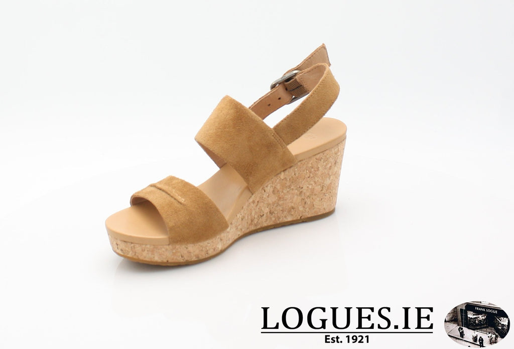 ELENA 11 UGGS SS18-SALE-UGGS FOOTWEAR-CHESTNUT 1019949-40 EU = 7.5 UK=9 US-Logues Shoes