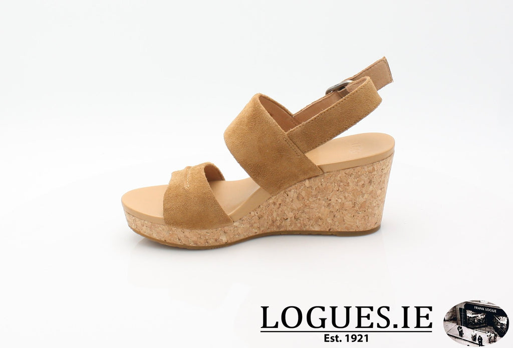 ELENA 11 UGGS SS18-SALE-UGGS FOOTWEAR-CHESTNUT 1019949-41 EU = 8.5 UK=10 US-Logues Shoes