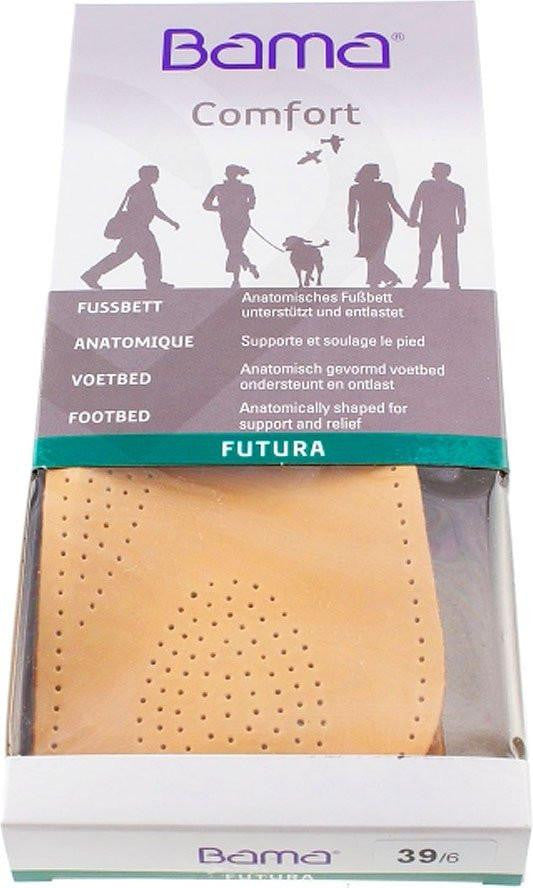 Futura footbed-Shoe Care-BAMA / KIWI POLISH-TAN LEATHER INSOLE-36 = 3 UK-Logues Shoes