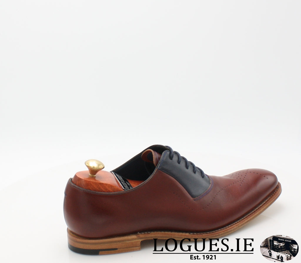 HARRY BARKER-SALE-BARKER SHOES-CHEERY/ NAVY-10.5-Logues Shoes