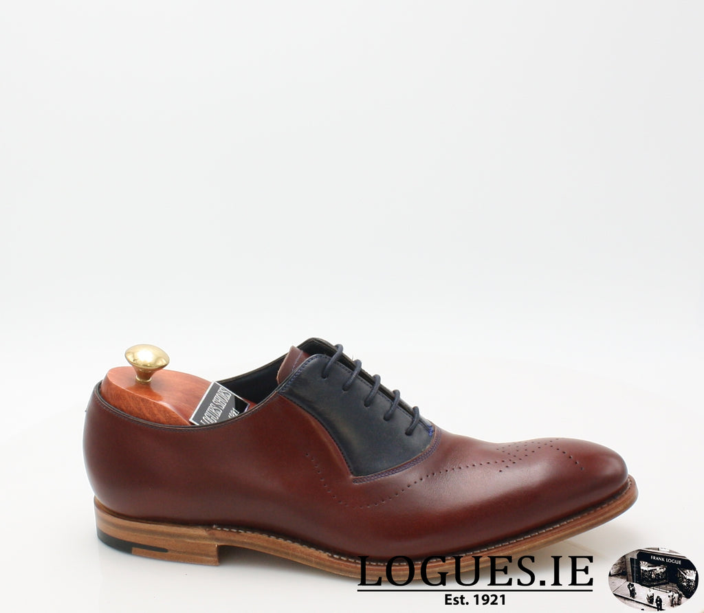 HARRY BARKER-SALE-BARKER SHOES-CHEERY/ NAVY-6-Logues Shoes