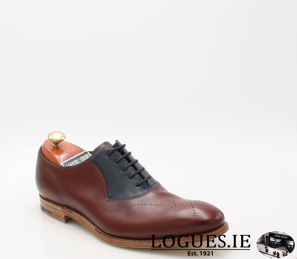 HARRY BARKER-SALE-BARKER SHOES-CHEERY/ NAVY-6.5-Logues Shoes