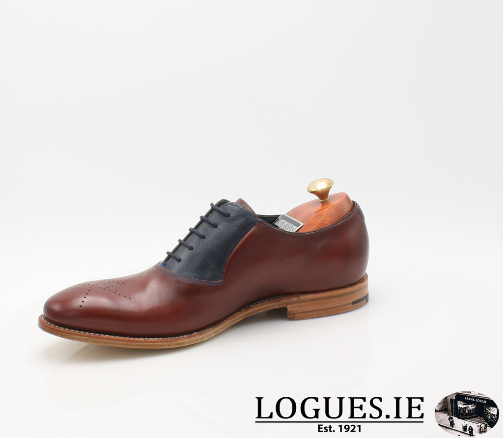 HARRY BARKER-SALE-BARKER SHOES-CHEERY/ NAVY-8-Logues Shoes