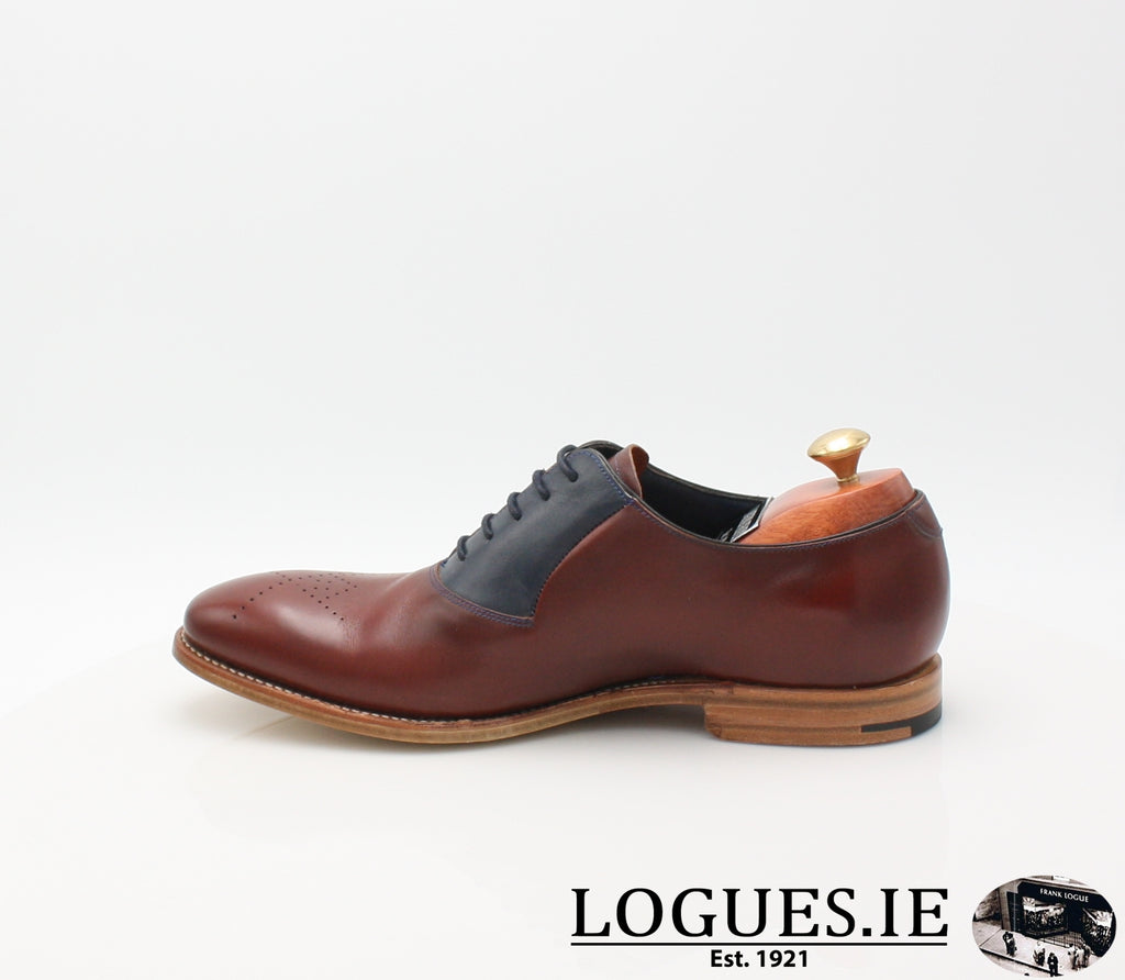 HARRY BARKER-SALE-BARKER SHOES-CHEERY/ NAVY-8.5-Logues Shoes