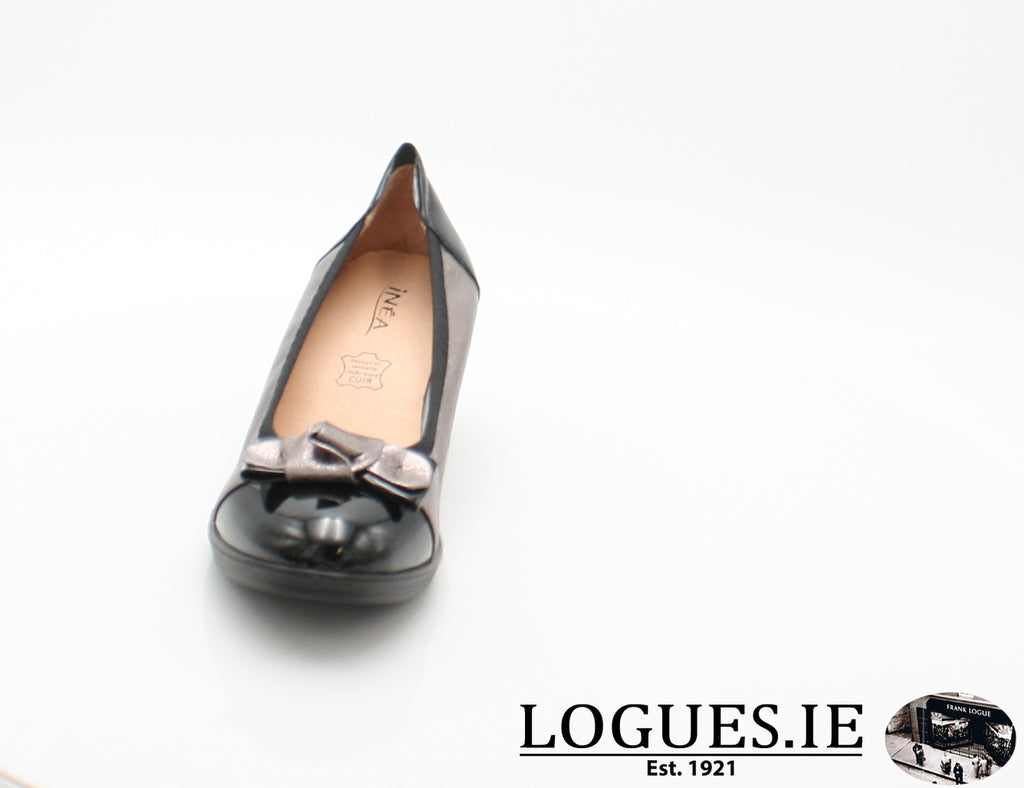 SERENA INEA S/S 18-Ladies-INEA SHOES-NOIR/ARGONTE-38 = 5UK-Logues Shoes