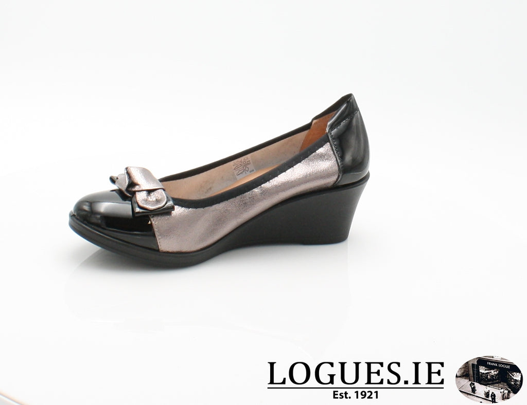 SERENA INEA S/S 18-Ladies-INEA SHOES-NOIR/ARGONTE-39 = 6 UK-Logues Shoes