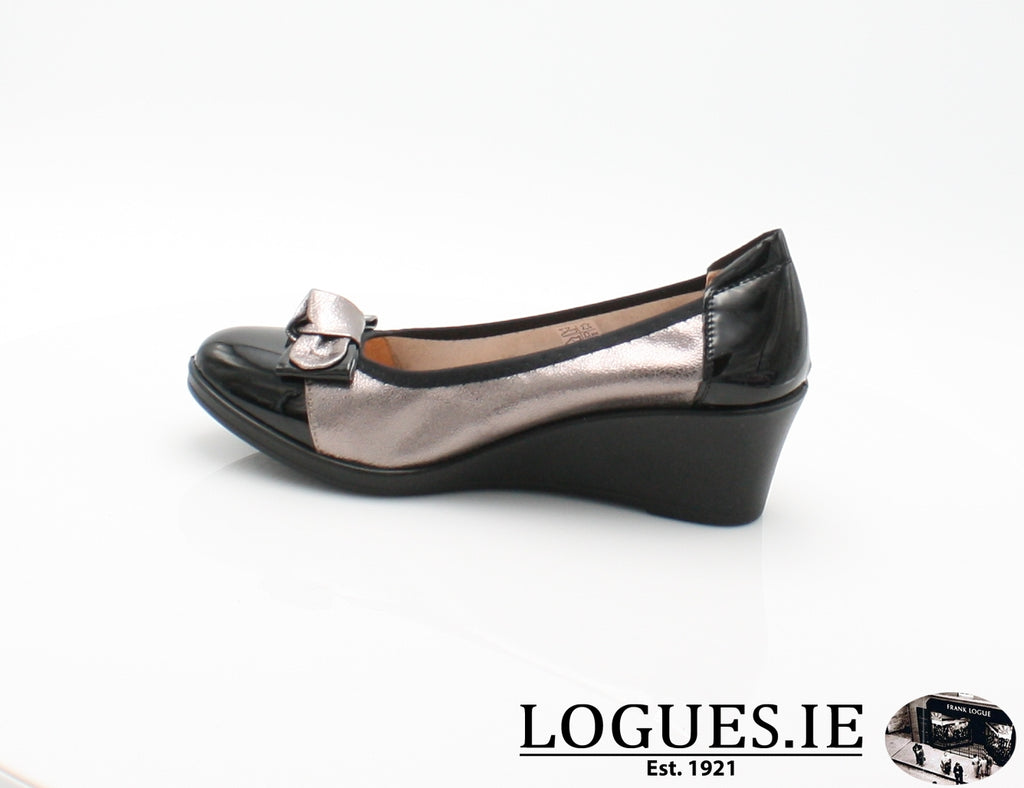 SERENA INEA S/S 18-Ladies-INEA SHOES-NOIR/ARGONTE-40 = 6.5 UK-Logues Shoes