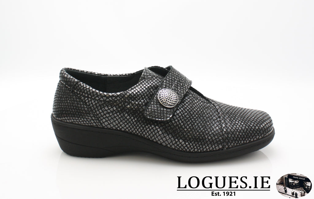 JESSICA SOFT MODE AW 18LadiesLogues ShoesBLACK SNAKE / 36 = 3 UK