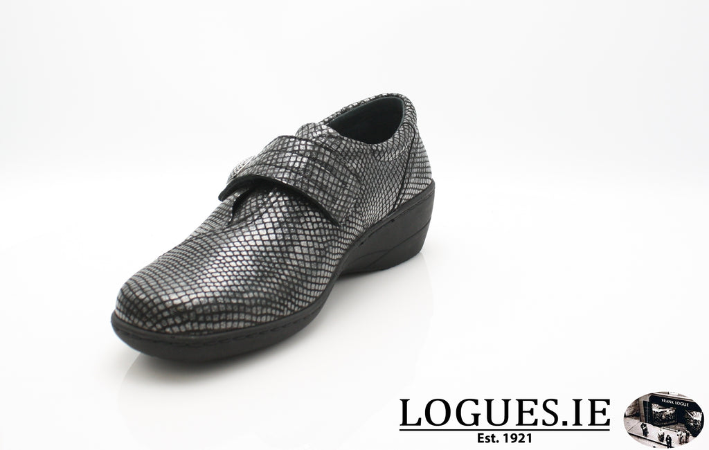 JESSICA SOFT MODE AW 18LadiesLogues ShoesBLACK SNAKE / 40 = 6.5/7 UK