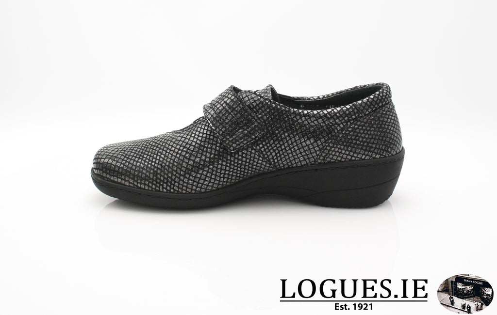 JESSICA SOFT MODE AW 18-Ladies-SOFTMODE ORION DISTRIBUTION-BLACK SNAKE-42 = 8 UK-Logues Shoes