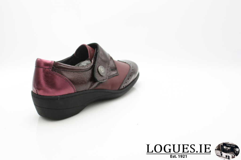 JO SOFT AW18LadiesLogues ShoesBORDEAU / 40 = 6.5/7 UK