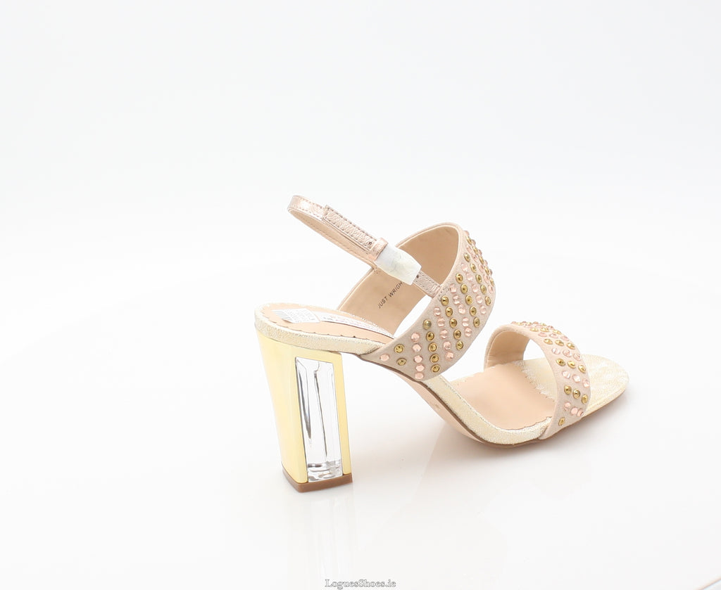 JUST WRIGHT AMY HUBERMAN SS18LadiesLogues ShoesROSE BLING / 42 = 8 UK