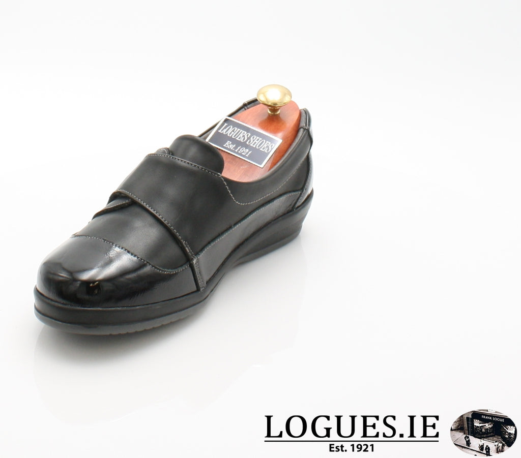 LILLY SUAVE AW18-Ladies-SUAVE SHOES CONOS LTD-BLACK-BLACK-40 = 6.5 UK-Logues Shoes