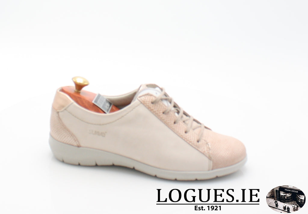 LIZZIE SUAVE S/S 18-Ladies-SUAVE SHOES CONOS LTD-PORCHE/NATURAL-36 = 3 UK-Logues Shoes