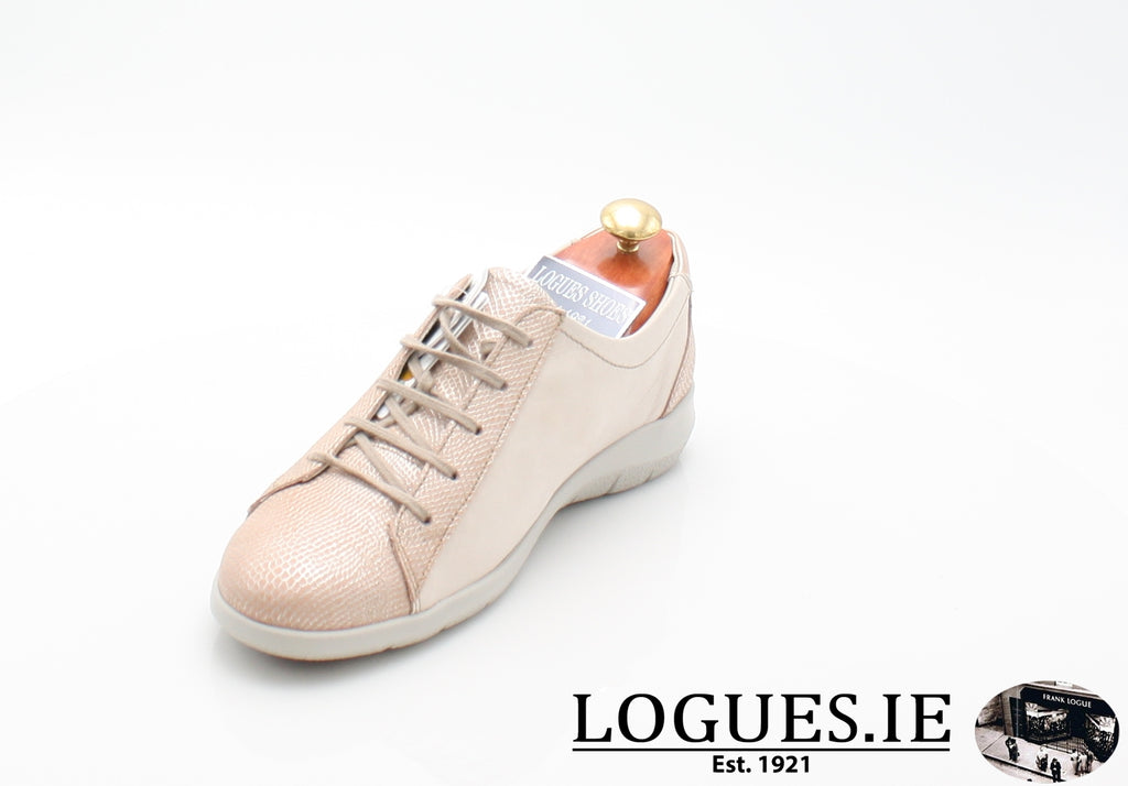 LIZZIE  SUAVE S/S 18LadiesLogues ShoesPORCHE/NATURAL / 40 = 6.5 UK
