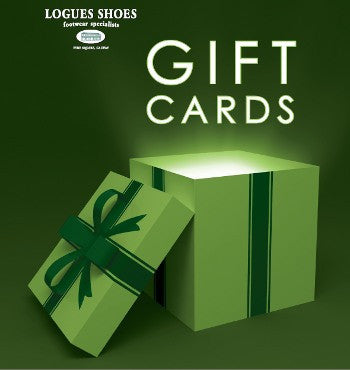 Logues shoes gift card