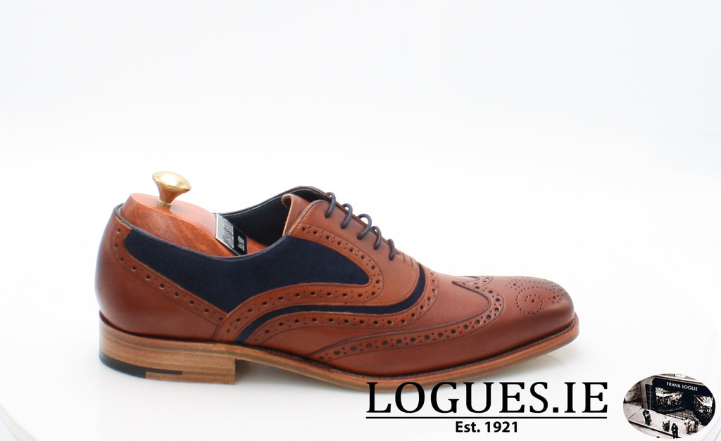 MC CLEAN BARKER-Mens-BARKER SHOES-ROSEWOOD NAVY-12-Logues Shoes