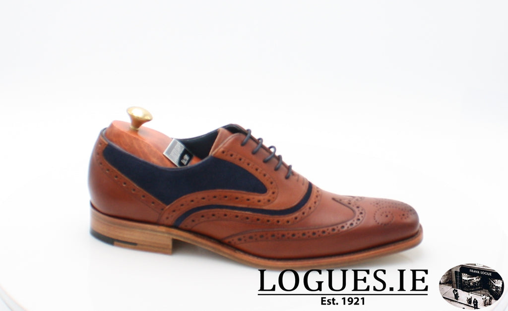 MC CLEAN BARKER-Mens-BARKER SHOES-ROSEWOOD NAVY-7-Logues Shoes