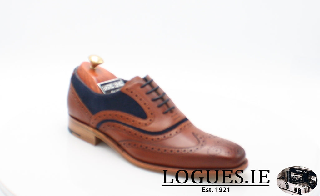 MC CLEAN BARKER-Mens-BARKER SHOES-ROSEWOOD NAVY-8-Logues Shoes