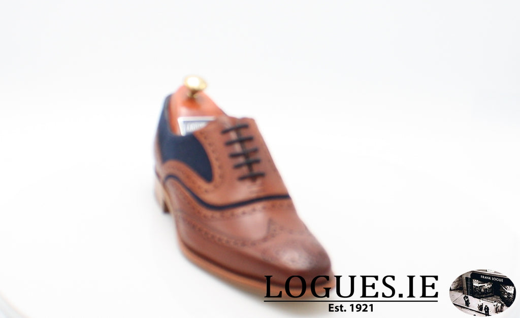 MC CLEAN BARKER-Mens-BARKER SHOES-ROSEWOOD NAVY-8.5-Logues Shoes