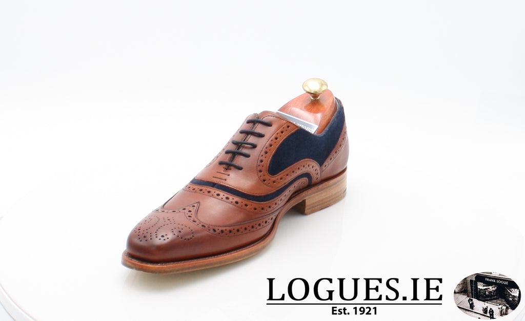 MC CLEAN BARKER-Mens-BARKER SHOES-ROSEWOOD NAVY-9.5-Logues Shoes
