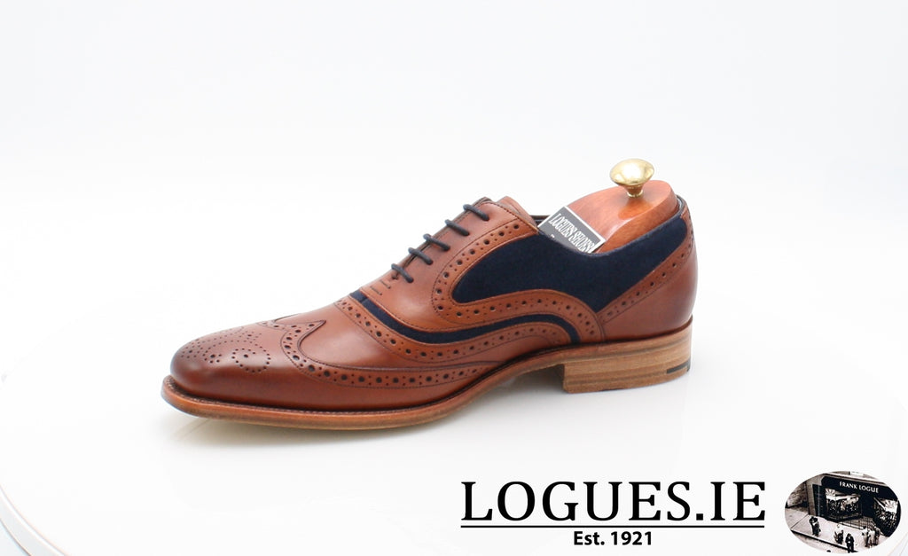 MC CLEAN BARKER-Mens-BARKER SHOES-ROSEWOOD NAVY-10-Logues Shoes