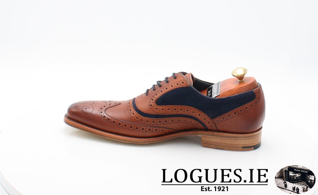 MC CLEAN BARKER-Mens-BARKER SHOES-ROSEWOOD NAVY-10.5-Logues Shoes
