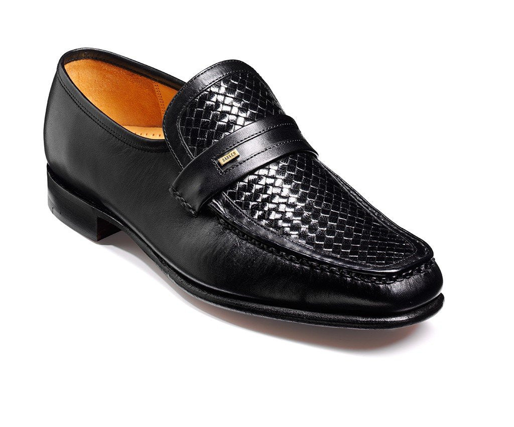 Barker Adrian-Mens-BARKER SHOES-BLACK-6-Logues Shoes