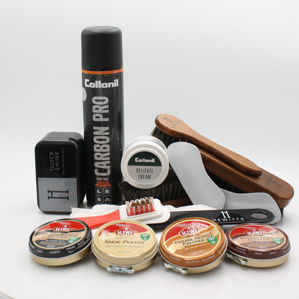 SHOE CARE GIFT SET 1 (CEDAR )