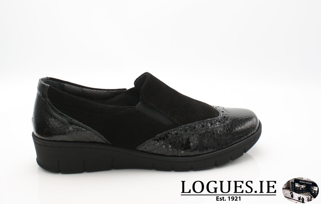 SADIE SOFT MODE AW18-Ladies-SOFTMODE ORION DISTRIBUTION-BLACK-36 = 3 UK-Logues Shoes